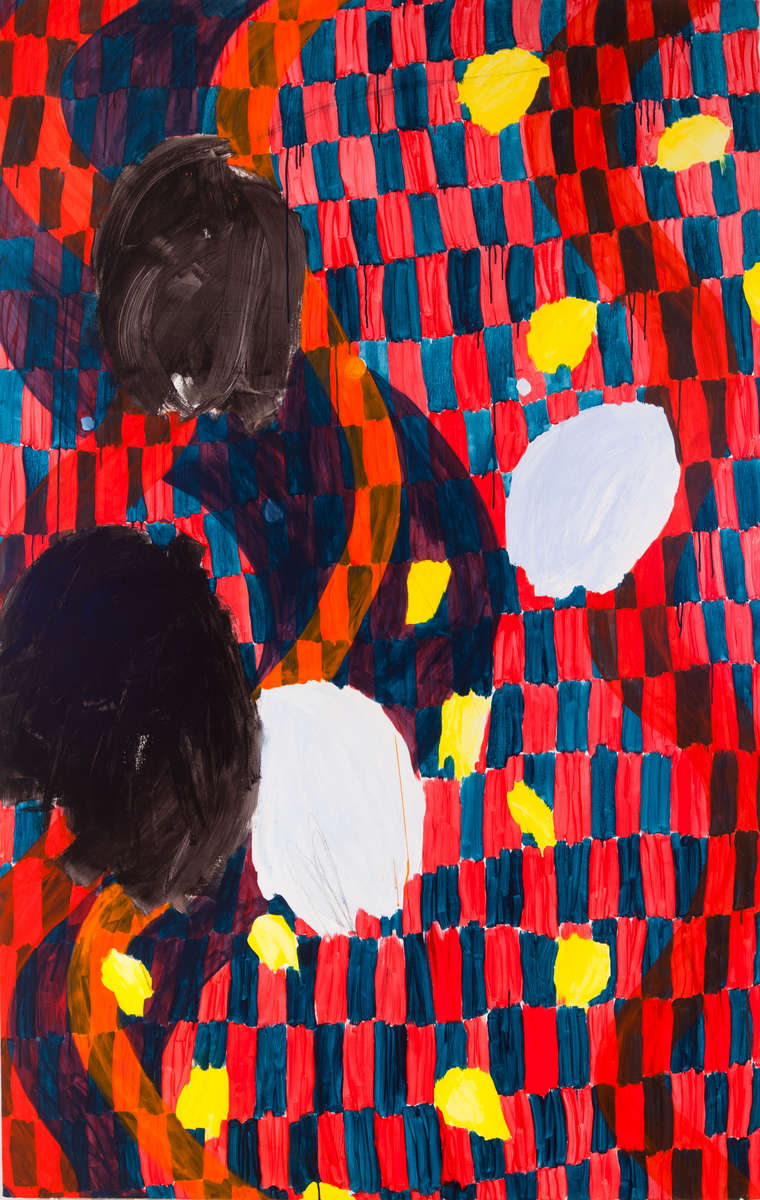 Brook MoyseHaunt (2013) acrylic on canvas 94{quote} x 60{quote}