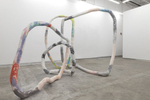 aqua resin, fiberglass, pigment, hyrdo-cal75 x 108 x 85 inches