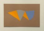 11.75 x 7.5 inchescollage on cardboard
