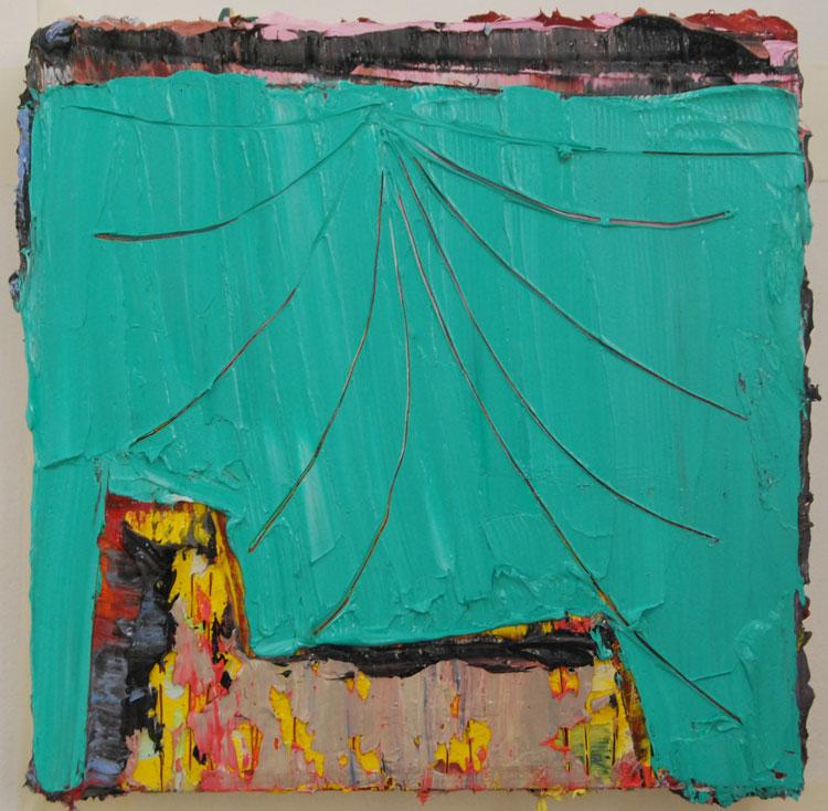 oil on panel30 x 30 x 4 cm
