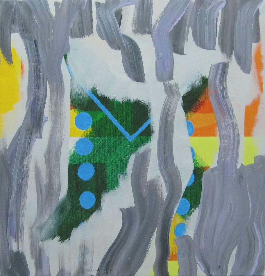 Acrylic on canvas70 x 70 cm.