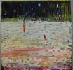 oil on wood, 40 x 40 cm