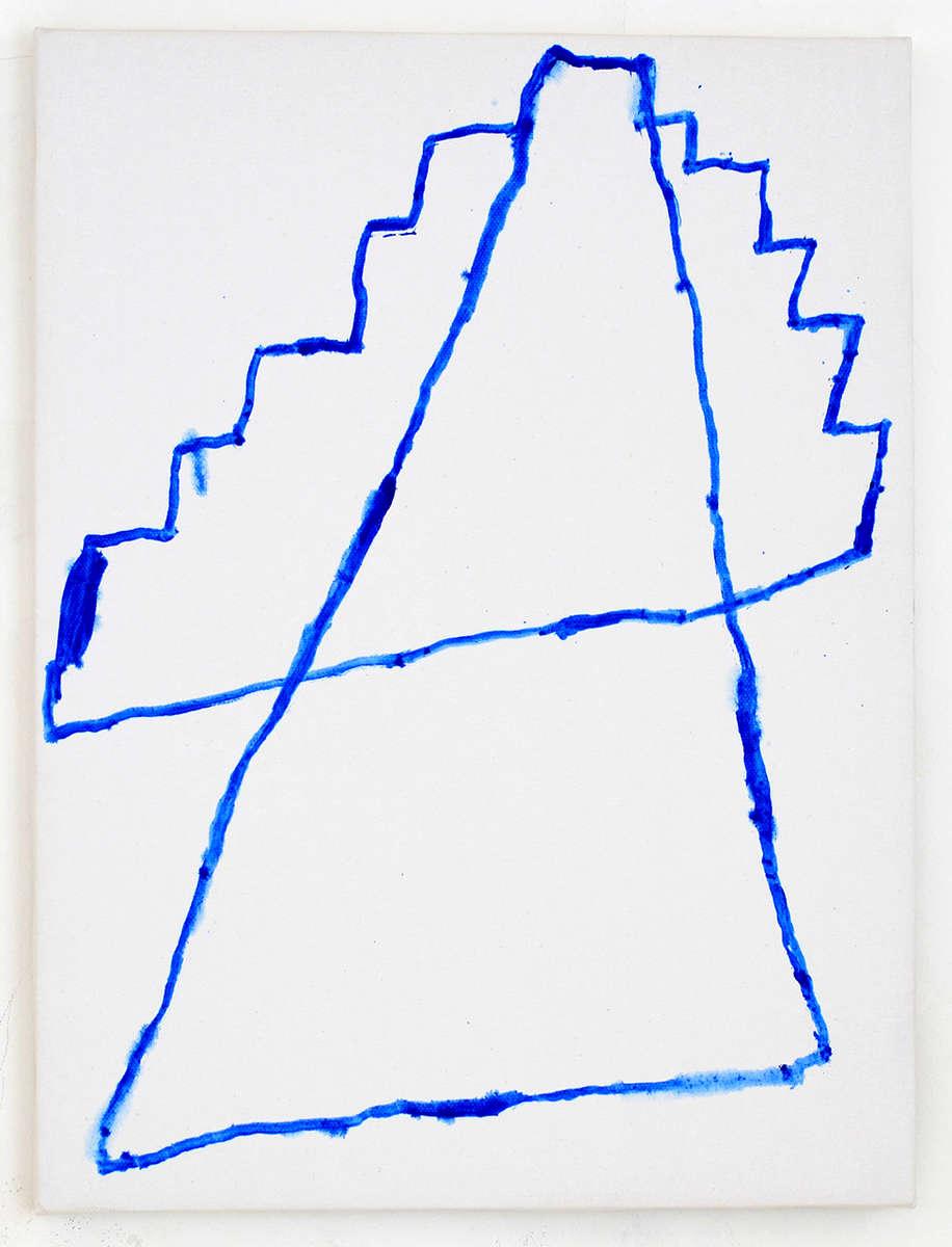 """Sasha PichushkinUntitled (2014) oil on canvas 11.81"""" x 15.75"""""""