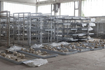 Remains of victims of the Bosnian war are laid on display at an identification center, Sanski most, Bosnia and Herzegovina, June 4, 2018. According to ICRC, there are still over 10,000 missing persons from the Yugoslav wars.