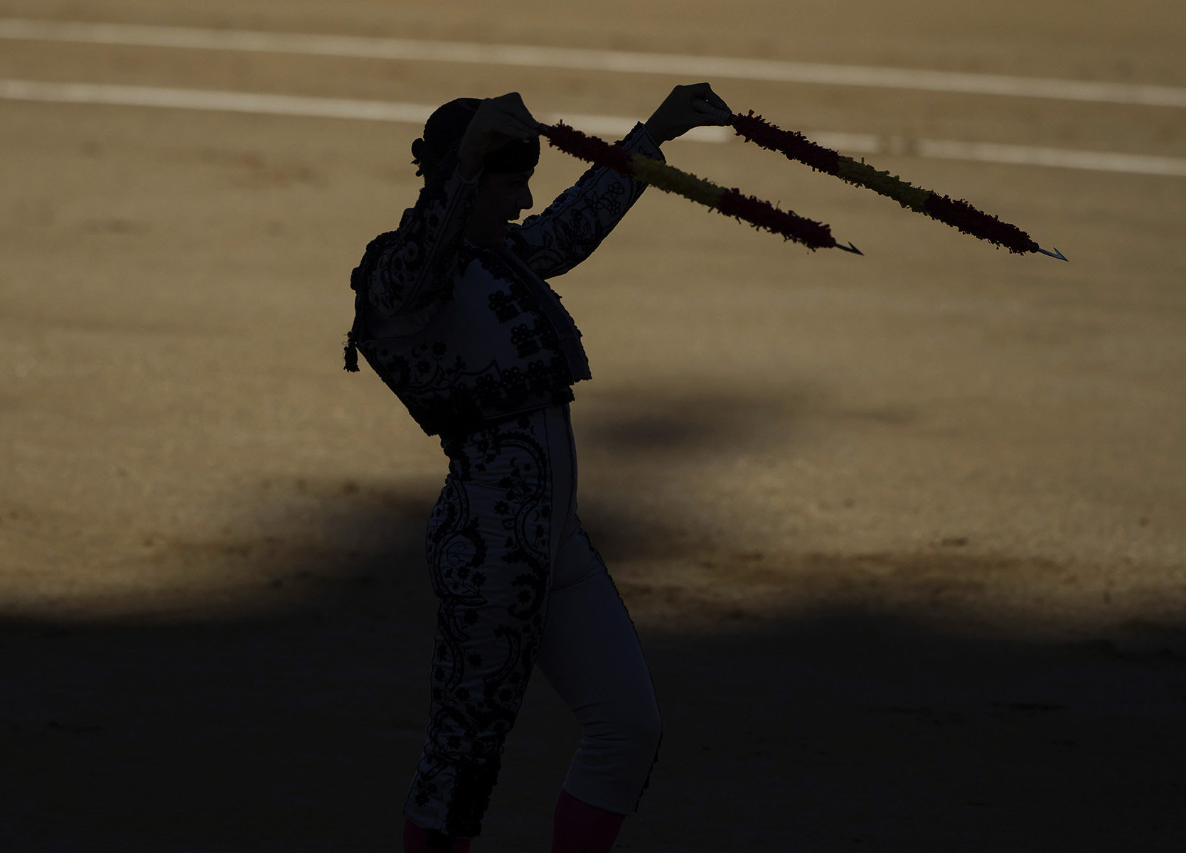 Novillada en las VentasAntonio Puerta + Juan Millan + Cesar Valencia© Alberto R. Roldan /  Razon30 07 2014