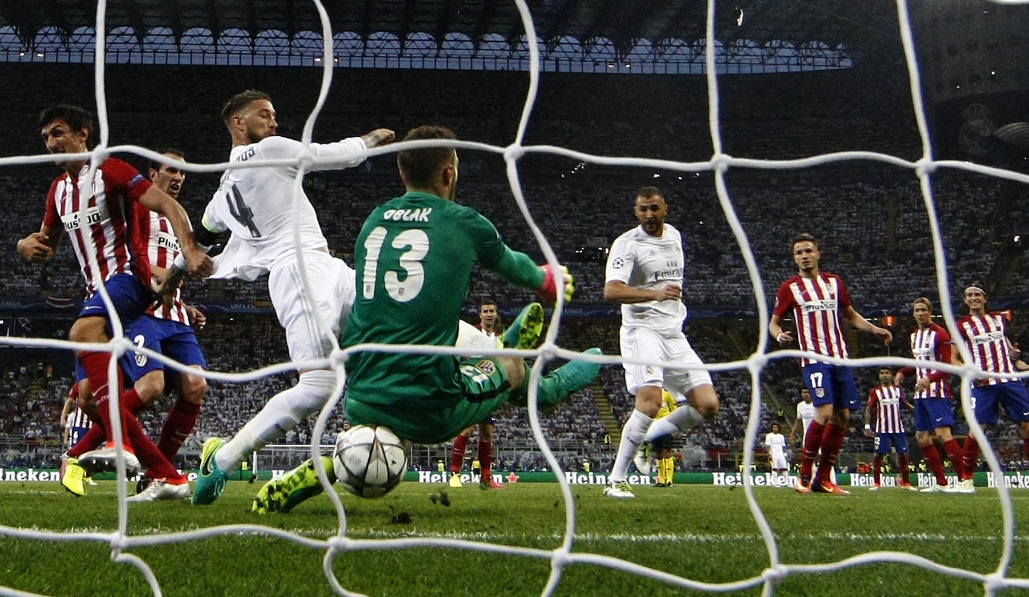 Final Champions LeagueReal Madrid - Atletico Madrid© Alberto R. Roldan / Diario La Razon28 05 2016