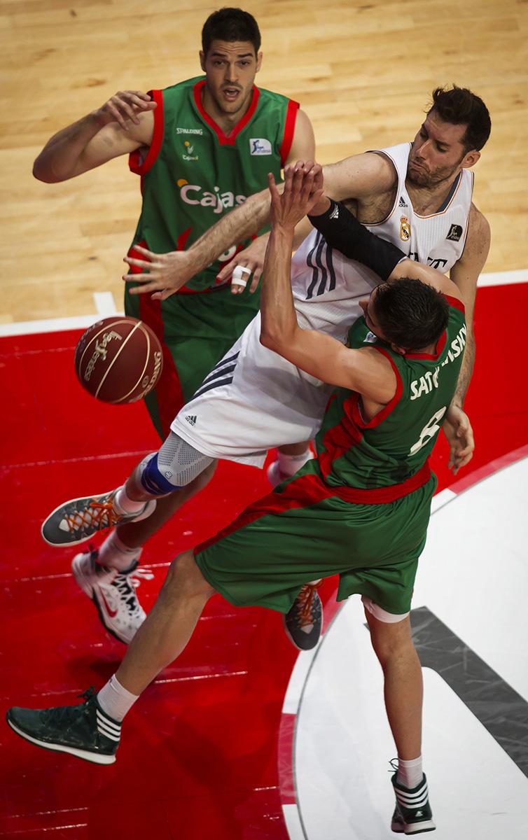 Real Madrid 81 - Cajasol 75Liga ACB Baloncesto © Alberto R. Roldan / Diario La Razon06 04 2014