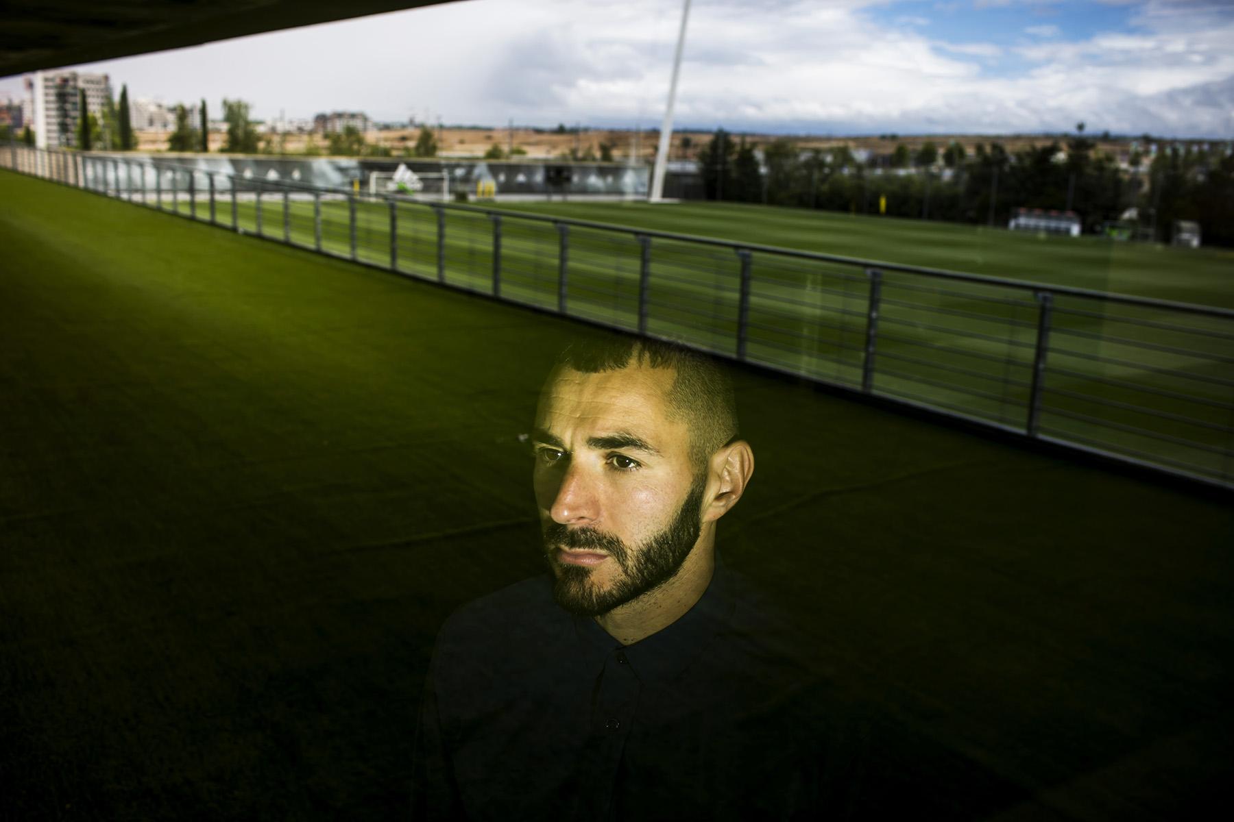 Entrevista a Karim Benzema, Jugador del Real Madrid© Alberto R. Roldan / Diario La Razon12 05 2017