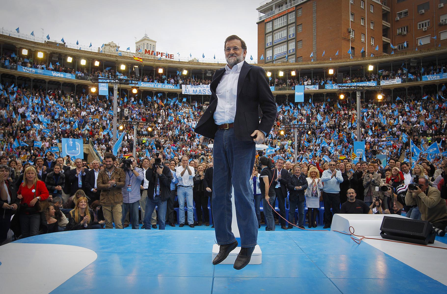 MITIN DE MARIANO RAJOY EN VALENCIA _ ELECCIONES GENERALES 2011© ALBERTO R. ROLDAN13 11 2011