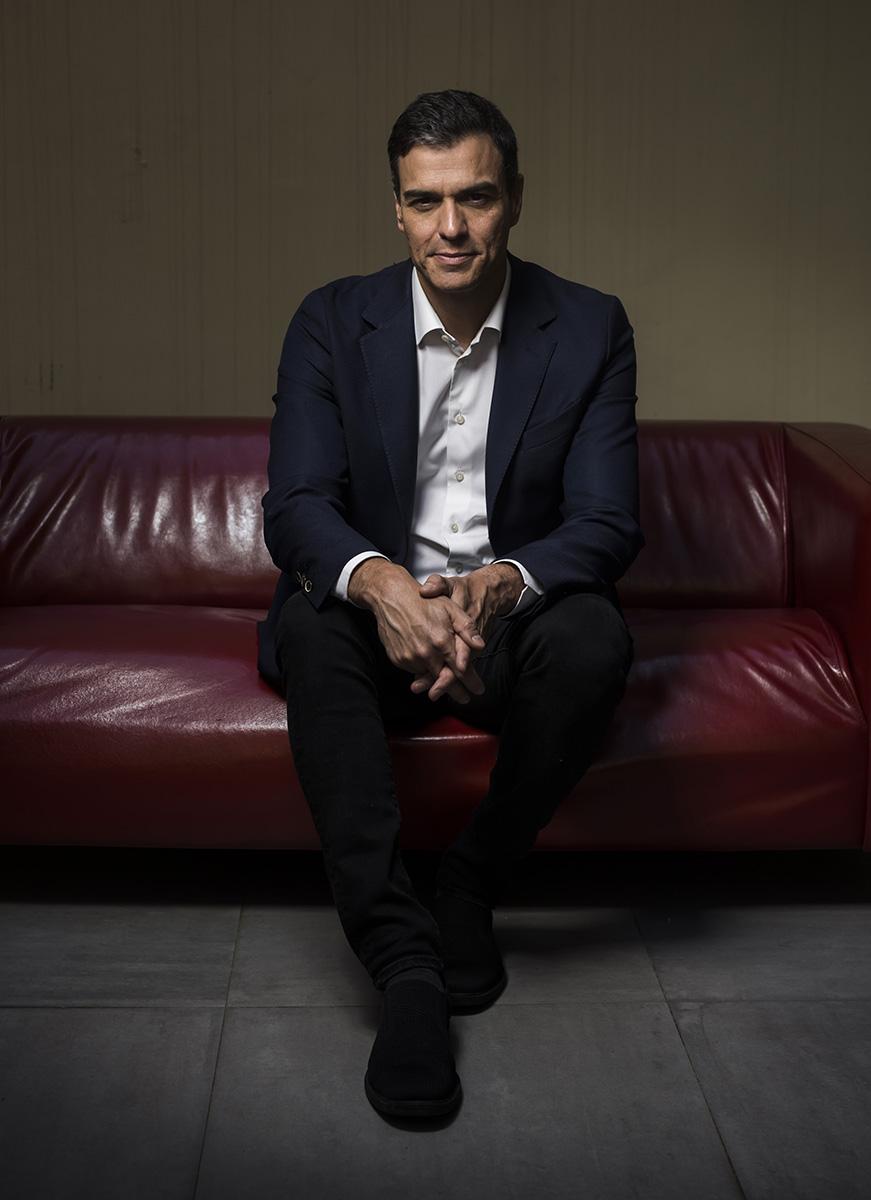 Pedro Sanchez, leader PSOE