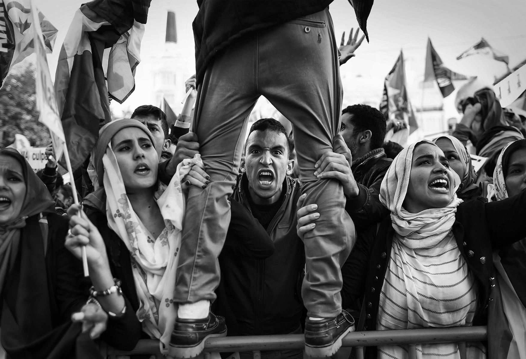 POL030-manifestacion-sahara