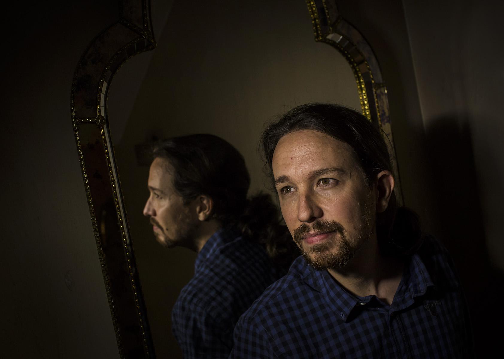 Entrevista Pablo Iglesias, Secretario General de Podemos© Alberto R. Roldan / Diario La Razon13 05 2016