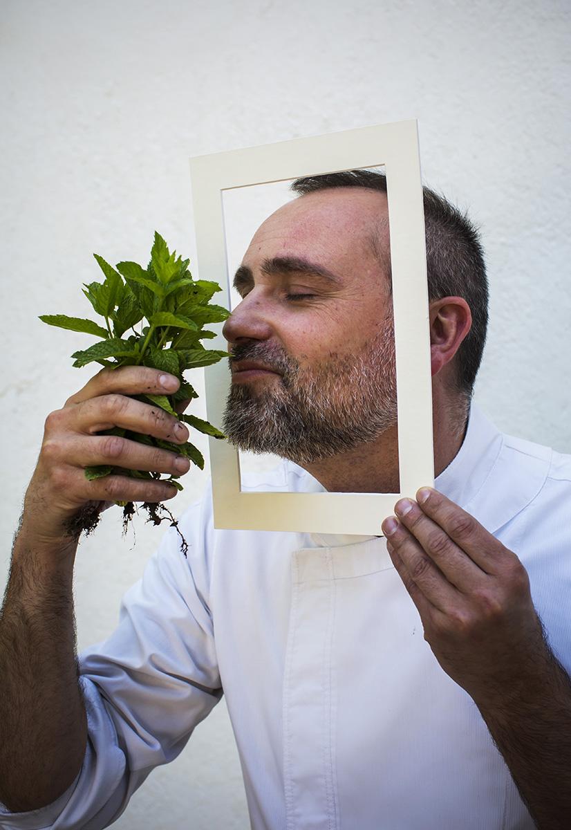 Entrevista Verano Passepartout al Chef Rodrigo de la Calle, Restaurante El Invernadero© Alberto R. Roldan / Diario La Razon08 06 2017