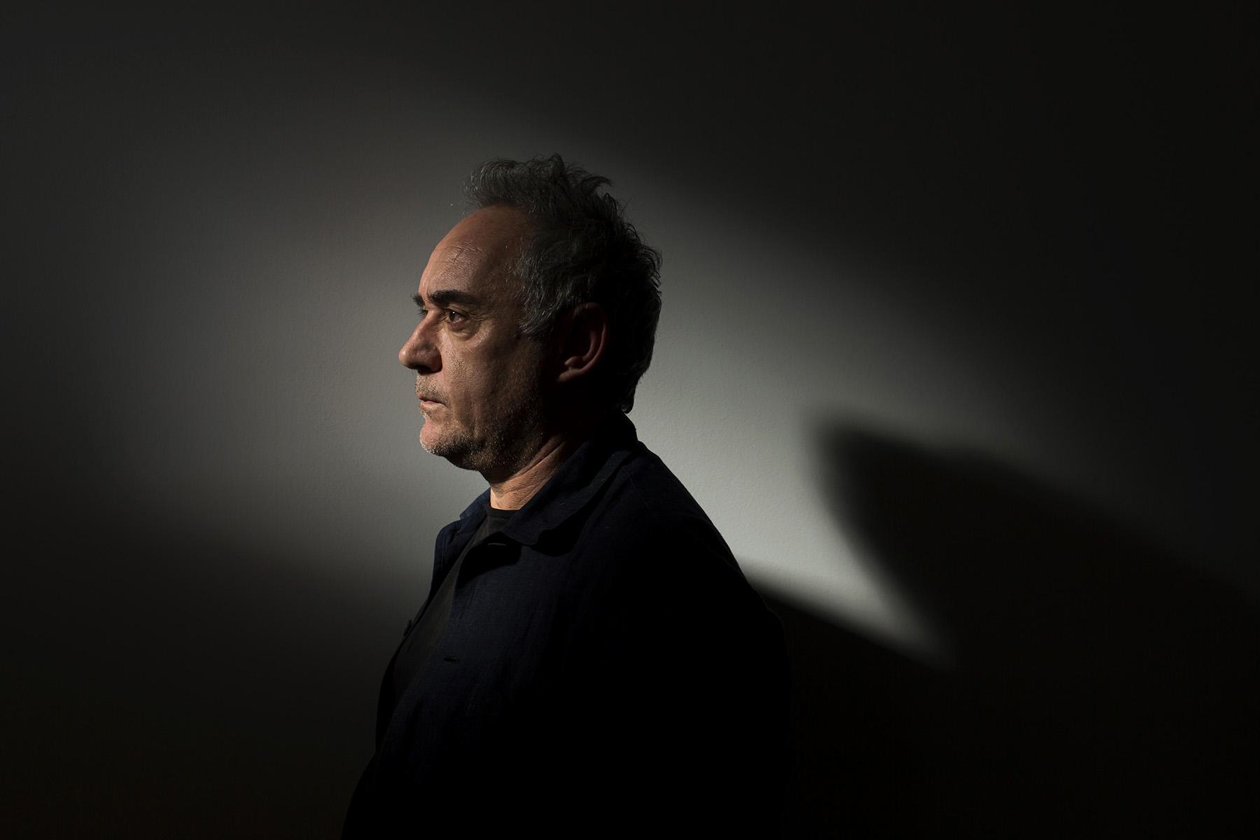 Entrevista de Domingo al Chef Ferran Adria en el BulliLab©  Alberto R. Roldan / Diario La Razon06 02 2017