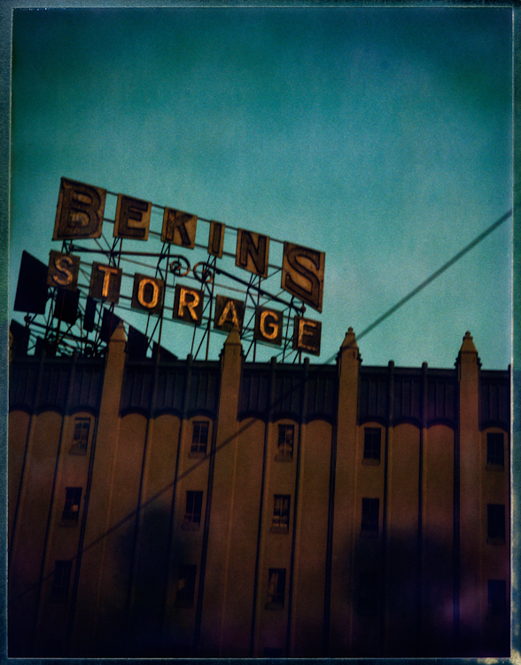 Bekins Storage - Los AngelesArchival Pigment Print40{quote}x30{quote} Edition of 10 • 24{quote}x20{quote} Edition of 25