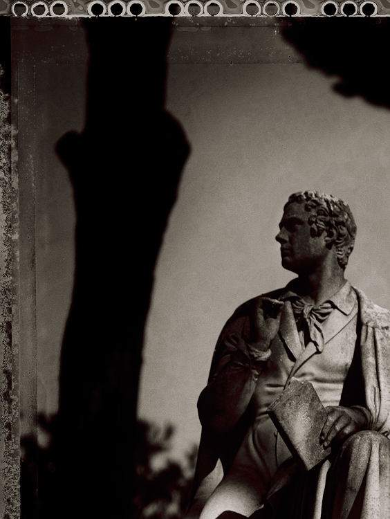 Lord Byron - Villa Borghese, Rome, Italy, 1997Archival Pigment Print40{quote}x30{quote} Edition of 10 • 24{quote}x20{quote} Edition of 25
