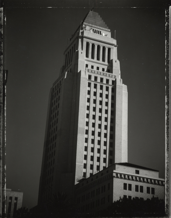 Los Angeles City Hall - Los AngelesArchival Pigment Print40{quote}x30{quote} Edition of 10 • 24{quote}x20{quote} Edition of 25