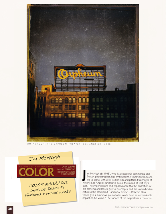 Color Magazine | Jim McHugh (download PDF)