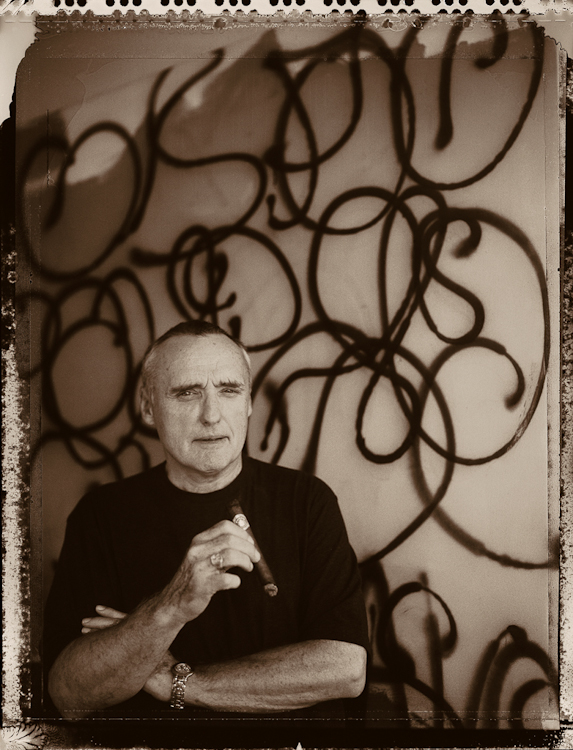 Dennis Hopper, Wilmington, North Carolina, 199816x20, unique iris print, printed in 1999