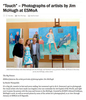 "Easy Reader News | ""Touch"" – Photographs of Artists by Jim McHugh at ESMoA(download PDF)"
