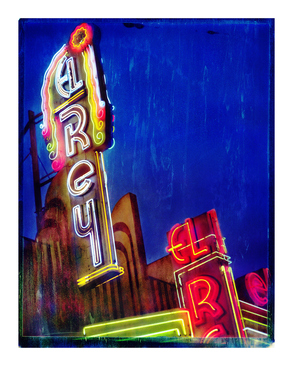The El Rey Theatre #2- Los AngelesArchival Pigment Print40{quote}x30{quote} Edition of 10 • 24{quote}x20{quote} Edition of 25