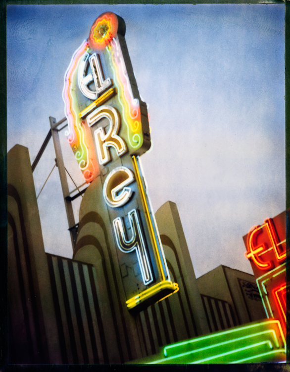 The El Rey Theatre #1 - Los AngelesArchival Pigment Print40{quote}x30{quote} Edition of 10 • 24{quote}x20{quote} Edition of 25