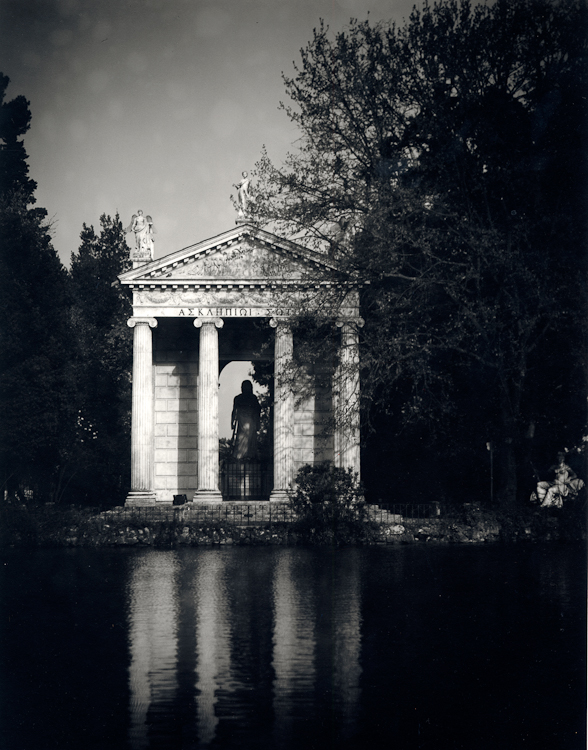 Giardino del Lago - Villa Borghese, Rome, Italy, 1997Archival Pigment Print40{quote}x30{quote} Edition of 10 • 24{quote}x20{quote} Edition of 25