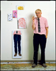 David Hockney in His Studio - Los Angeles