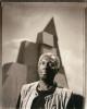 John Outterbridge, public art site in Los Angeles, CA, 199420x24, unique tone silver gelatin print, printed in 1995