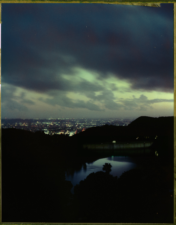 Lake Hollywood  - Dusk- Los AngelesArchival Pigment Print 40{quote}x30{quote} Edition of 10 • 24{quote}x20{quote} Edition of 25