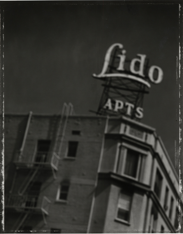 Lido Apartments - Los AngelesArchival Pigment Print40{quote}x30{quote} Edition of 10 • 24{quote}x20{quote} Edition of 25