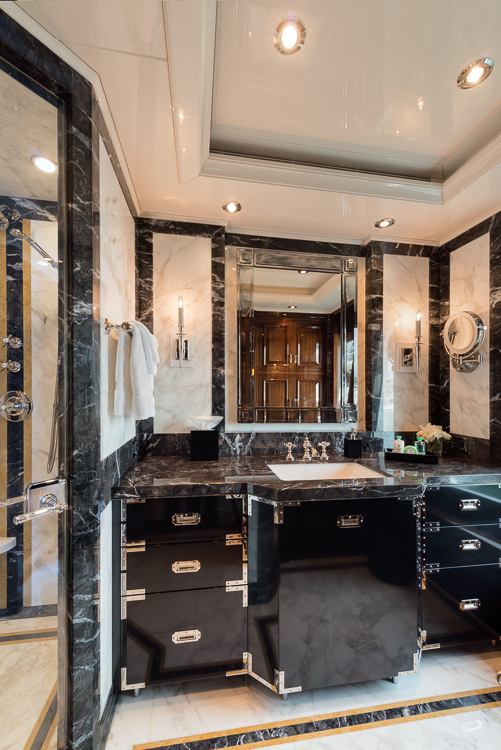 Stateroom bath