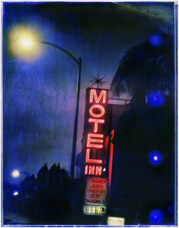 8th Street Motel - Los AngelesArchival Pigment Print40{quote}x30{quote} Edition of 10 • 24{quote}x20{quote} Edition of 25