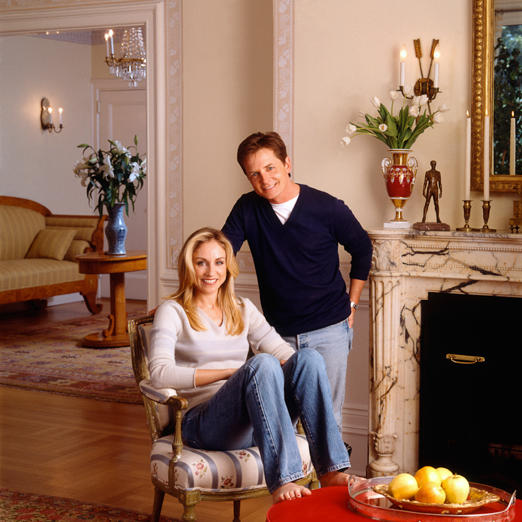 Michael J. Fox & Tracy Pollan