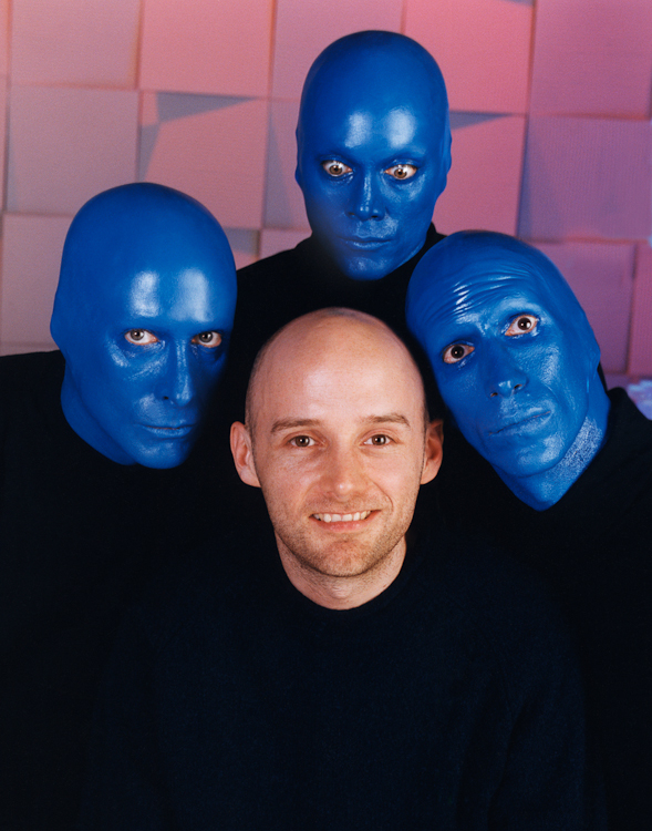 Moby & Blue Man Group