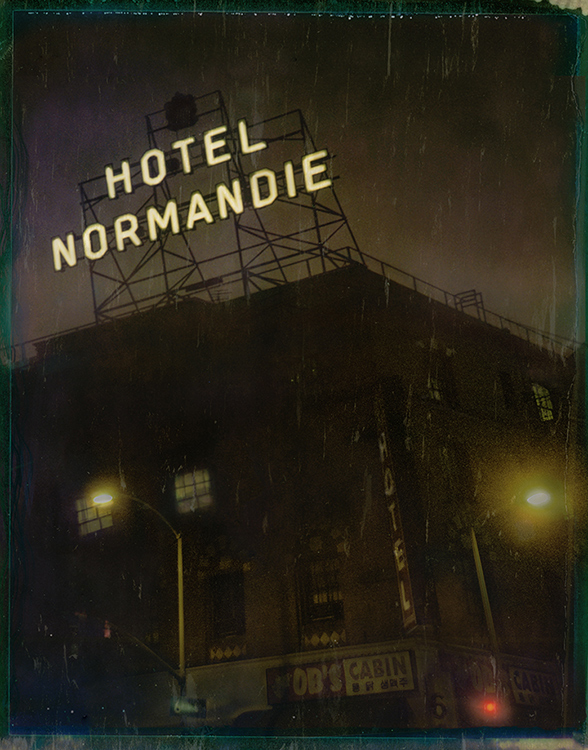 Hotel Normandie - Los AngelesArchival Pigment Print40{quote}x30{quote} Edition of 10 • 24{quote}x20{quote} Edition of 25