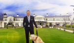 Developer Rick Caruso opening week of his Rosewood Miramar Beach Hotel in Montecito, CA.
