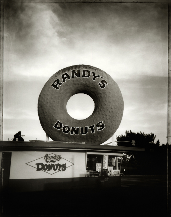 Randy's Donuts - Los AngelesArchival Pigment Print40{quote}x30{quote} Edition of 10 • 24{quote}x20{quote} Edition of 25