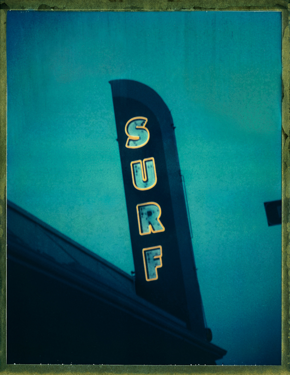 Surf Shop - Los AngelesArchival Pigment Print40{quote}x30{quote} Edition of 10 • 24{quote}x20{quote} Edition of 25Photographed in Santa Cruz, CA. one of the few remaining vintage California beach towns.