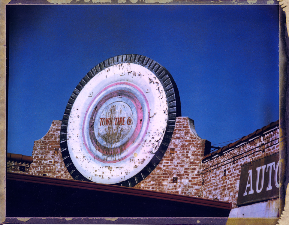Town Tire Co. - Los AngelesArchival Pigment Print40{quote}x30{quote} Edition of 10 • 24{quote}x20{quote} Edition of 25