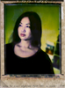 Won Ju Lim in her Silver Lake studio, 2008. original T-79 Polaroid photograph, unique.