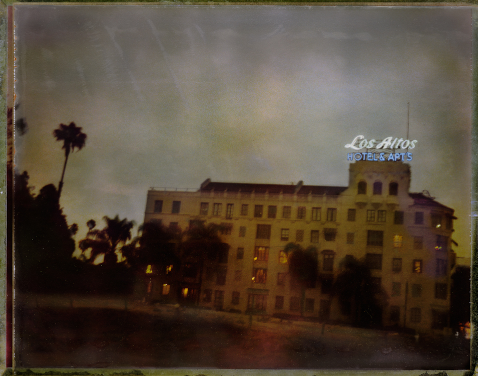 Los Altos Hotel Apartments - Los AngelesArchival Pigment Print40{quote}x30{quote} Edition of 10 • 24{quote}x20{quote} Edition of 25