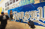 in an alley off Santa Fe St. in downtown LA by Quik_K2S and Luke.of the graffiti crew K2S {quote}Kill to Succeed{quote}