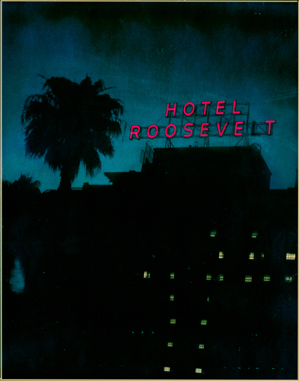 Hotel Roosevelt - Los AngelesArchival Pigment Print40{quote}x30{quote} Edition of 10 • 24{quote}x20{quote} Edition of 25