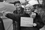 Tom Morello (with mom)