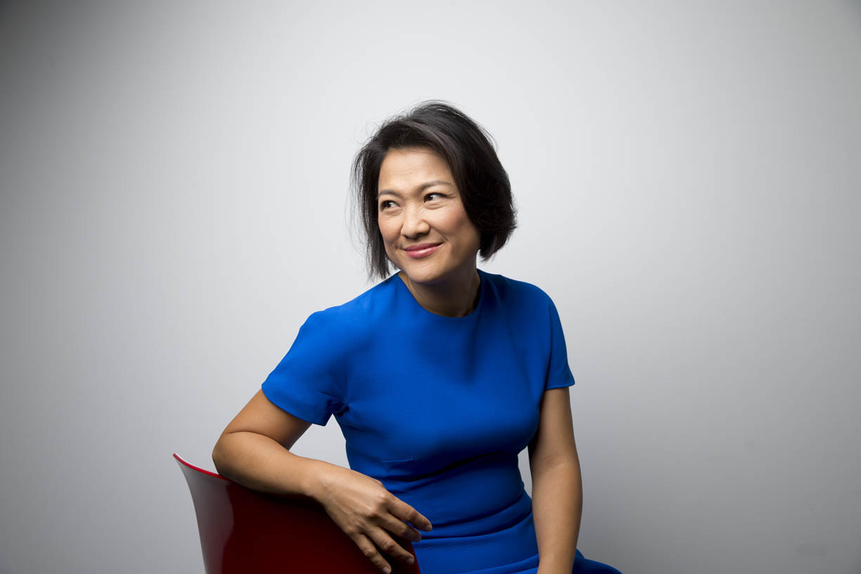 Billionaire Zhang Xin, chief executive officer of Soho China Ltd.,