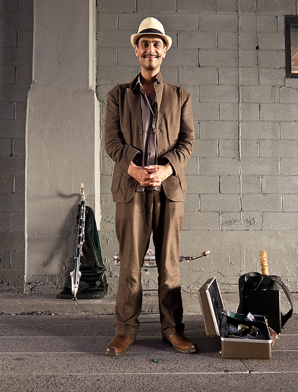 High Line Artist