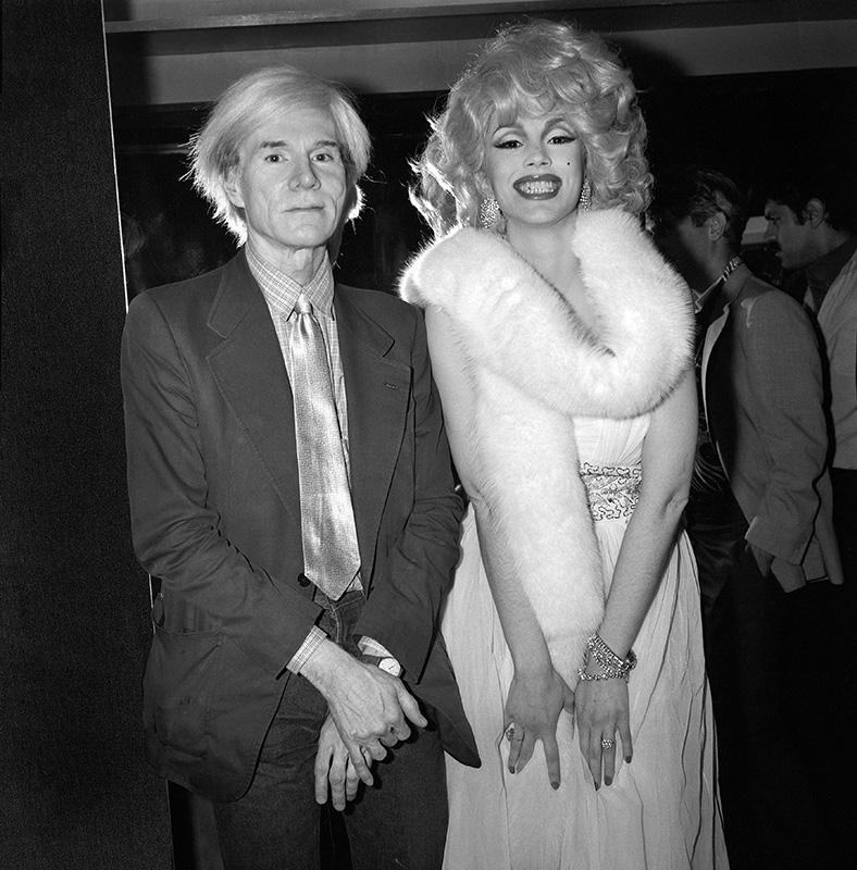 Andy Warhol & Maria Duval