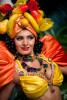 Carmen Miranda Living Statue