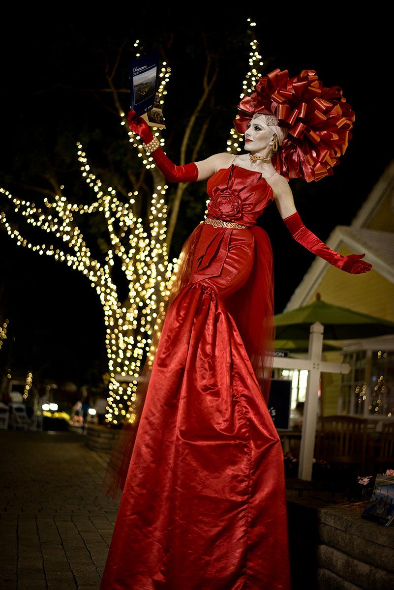 Gift Wrap Lady